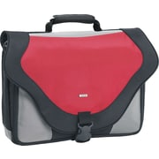 SOLO® Laptop Messenger Bag, Red, 17