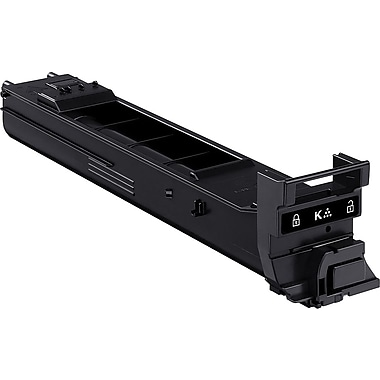 Konica Minolta Black Toner Cartridge (A0DK131), Standard Yield