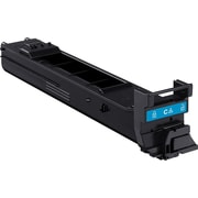 Konica Minolta Cyan Toner Cartridge (A0DK432), High Yield