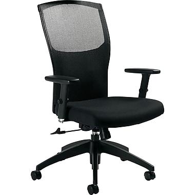 Global® Alero™ Executive High-Back Tilt Chair, Black