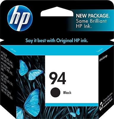 HP 94 Black Ink Cartridge C8765WN