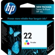 HP 22 Tri-color Ink Cartridge (C9352AN)