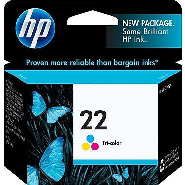 HP 22 Tricolor Ink Cartridge (C9352AN)