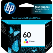 HP 60 Tricolor Ink Cartridge (CC643WN)