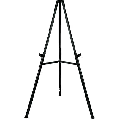 Triumph Display Easel, Gray, 36in.-62in.