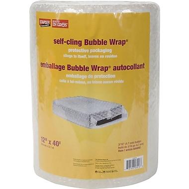 Staples® Self-Cling Bubble Wrap*, 12