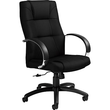 Global® High-Back Manager's Chair, Ebony