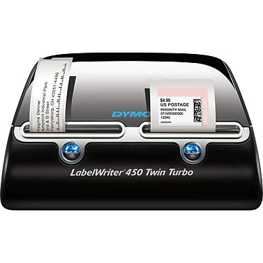 Dymor labelwriter 450 twin turbo label printer staplesr for Dymo labelwriter 400 labels