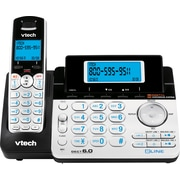 VTech DS6151 DECT 6.0 2-Line Cordless Telephone with Digital Answering System