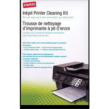 Staples® Inkjet Printer Cleaning Kit