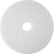 """3M White Super Polish Pad 4100, 16"""", 5/Ct"""