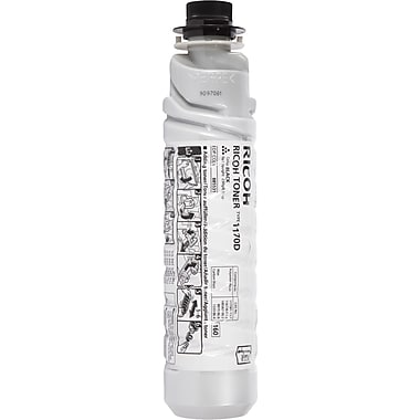 Ricoh 885531 Black Toner Cartridge, Type 1170D
