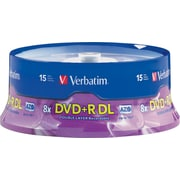 Verbatim, 15/Pack AZO DVD+R DL 8X, Spindle