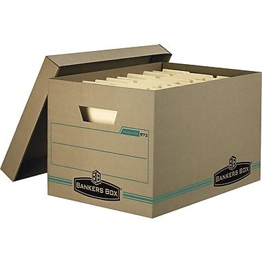 Bankers Box® – Boîtes de rangement Enviro Stor™, format lettre/légal, paq./6