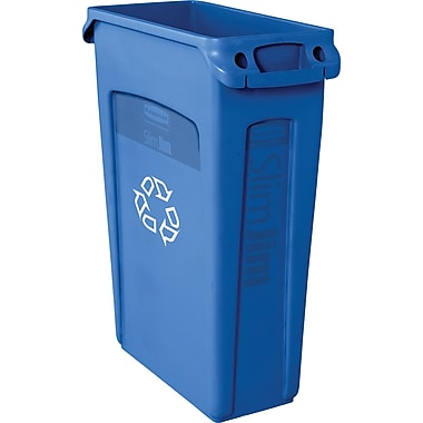 Rubbermaid® Slim Jim Recycling Container