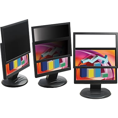 3M LCD Monitor 23.6in. - 24.0in. Widescreen Lightweight Framed Privacy Computer Filter