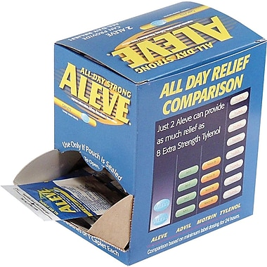 Aleve®, 50 Packets/Box