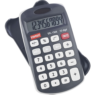 Staples SPL-150 10-Digit Display Calculator