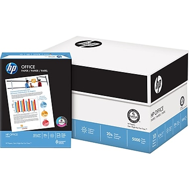 HP Office Paper, 8 1/2in. x 11in., Case