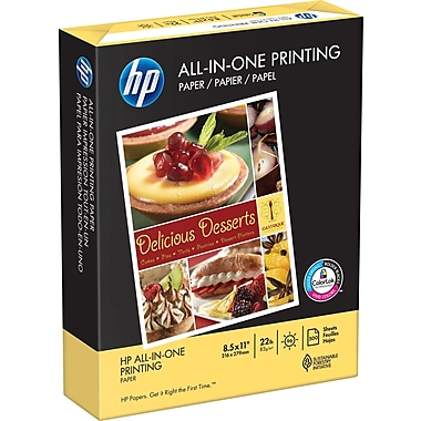 HP All-in-One Printing Paper, 8-1/2