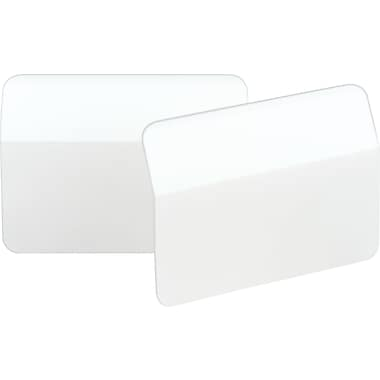 Post-it®  2in. Angled Durable Tabs, White, 50 Tabs/Pack
