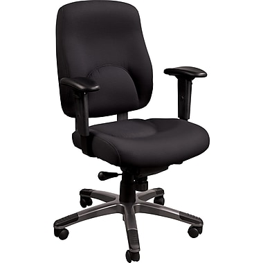 Staples® Verdesol™ Fabric Task Chair, Black