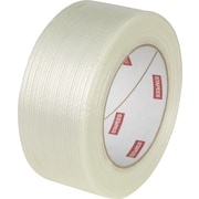 "Staples Fiberglass Filament Tape, 1.9"" x 60yds, Clear, Each (31161-CC)"
