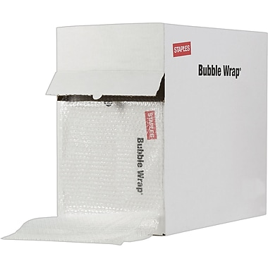 Staples® Standard Bubble Wrap®, 12in. x 175'