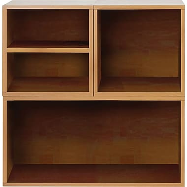 Foremost® Hold'ems 3-in-1 Modular Cube Storage System Kit, Honey Oak