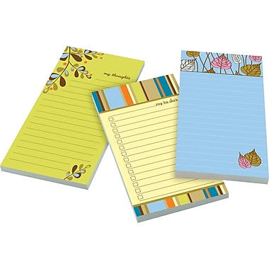 Post-it® Super Sticky 4in. x 8in. Designer Notes with Magnets