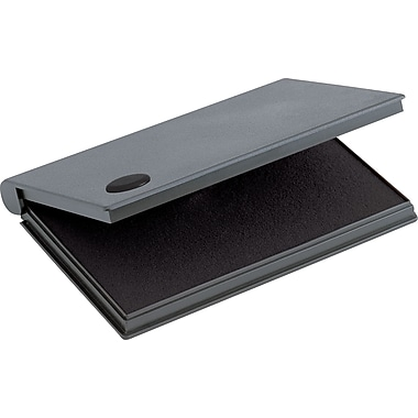 Cosco® Felt Stamp Pads, 3-1/2in. x 6-1/4in., Black