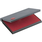Cosco® Felt Stamp Pads, 3-1/2 x 6-1/4, Red
