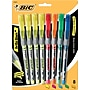 Bic Brite Liner + Liquid Highlighters, Assorted, 8/pack