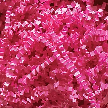 Spring Fill® Crinkle Cut™ Shred, Fuchsia, Case