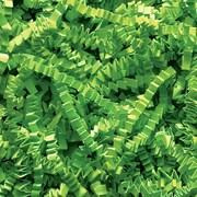 Staples Spring-Fill Crinkle Cut Shred, Lime Green