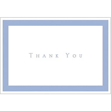 Periwinkle Thank You Note Cards with Envelopes