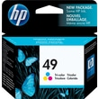 HP 49 Tri-color Ink Cartridge (51649A)