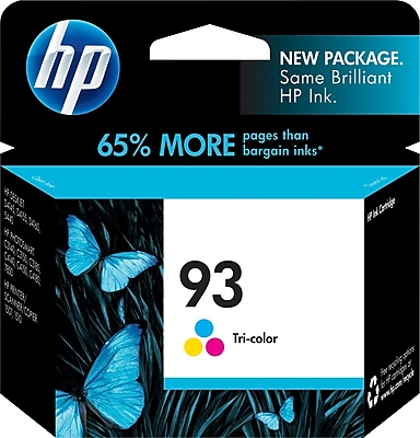 HP 93 Tricolor Ink Cartridge C9361WN