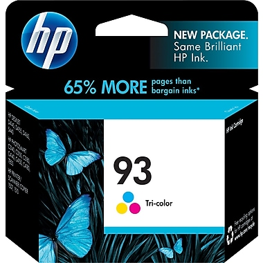HP 93 Tricolor Ink Cartridge (C9361WN)
