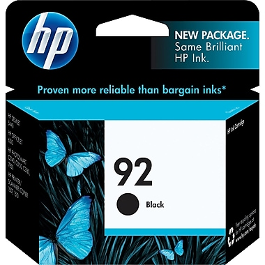 HP 92 Black Ink Cartridge (C9362WN)