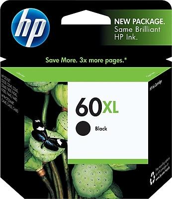HP 60XL Black Ink Cartridge CC641WN High Yield