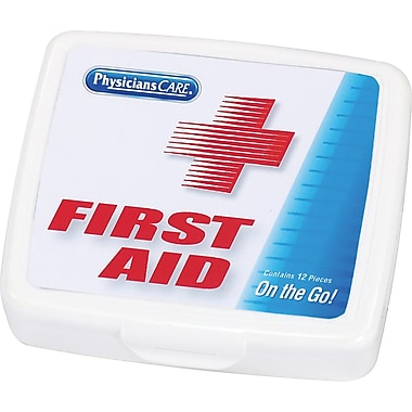 PhysiciansCare® Mini in.First Aid to Goin. Kit