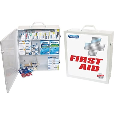 PhysiciansCare® Industrial ANSI/OSHA First Aid Kit for 100 People, Contains 721 Pieces