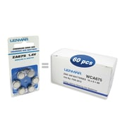 Lenmar #675 Zinc Air Hearing Aid Battery, 6 pcs per pack, 10 packs (HZA675-60)