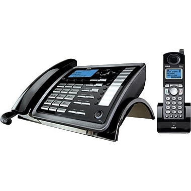 RCA 25255RE2 DECT 6.0 2-Line Corded/Cordless Telephone with Digital Answering System