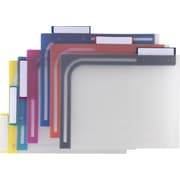 Staples® Better™ Poly File Folders, Letter, Assorted, 6/Pack