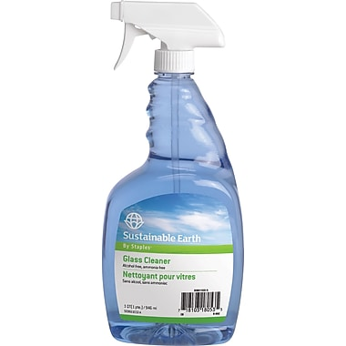 Sustainable Earth by Staples® Glass Cleaner and Refill
