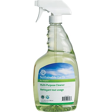 Staples Sustainable Earth All-Purpose Cleaner, 32oz, Each (SEB641032-A-CC)
