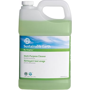 Sustainable Earth by Staples® All-Purpose  Refill, 1 gal.
