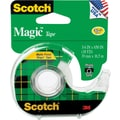Scotch® Magic™ Tape, 3/4in. x 18 yds with Dispenser, 1in. Core
